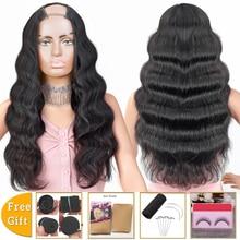 body wave wig u part wig human hair