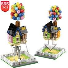 High-tech idéias criador tensegrity blocos de construção suspendido balão casa força equilíbrio construção tijolos brinquedos para crianças