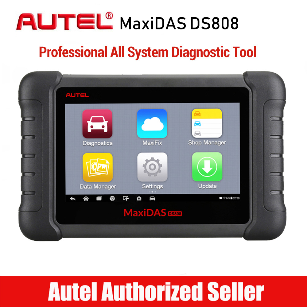 Autel MaxiDAS DS808 All System Car Diagnostic Tool Professional Auto OBD OBD2 Code Reader Scanner Oil Reset TPMS SAS EPB DPF-in Engine Analyzer from Automobiles & Motorcycles    1