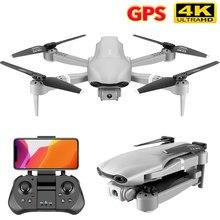 2021 novo zangão f3 gps 1080p/4k 5g wifi vídeo ao vivo fpv quadrotor rc zangão com hd grande-angular câmera dupla brinquedo presente