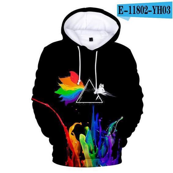 Colorful Rainbow LGBT Hoodies Sweatshirt Men Women For Lesbian Gay Pride LGBT Hoodie Fashion Casual Pullover Hooded Sweatshirts 11