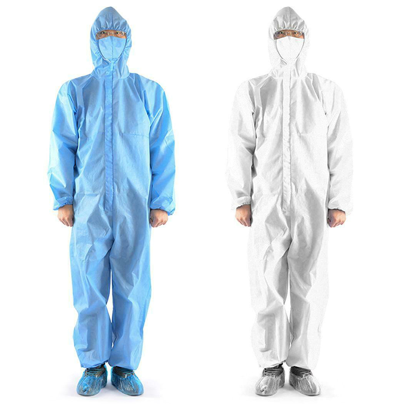 One Time Disposable Waterproof Oil-Resistant Protective Coverall For Spary Painting Decorating Clothes Overall Suit Workwear