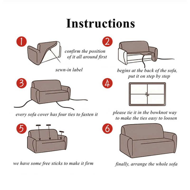 البيج غطاء أريكة الأثاث تمتد يغطي مرونة غطاء أريكة s لغرفة المعيشة Copridivano الأغلفة ل الكراسي الأريكة يغطي