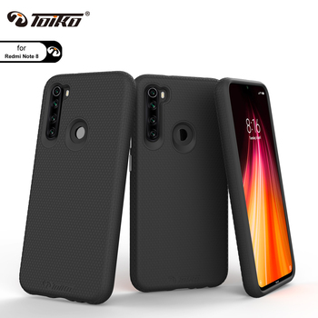 TOIKO X Guard Dual Layer Armor Cover for Xiaomi Redmi Note 8 Shockproof Protection Shell Hybrid Hard PC Soft TPU Bumper Case New