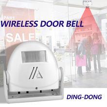 Timbre de puerta antirrobo Timbre Inalámbrico ding-dong, detector de movimiento infrarrojo TXTB1, Dispositivo de bienvenida