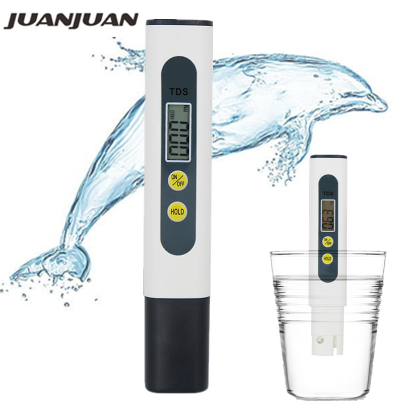 Digital Atomatic Calibration TDS Meter Tester 0~990ppm Filter Measuring Water Quality Conductivity Monitor Purity Tools 40%off