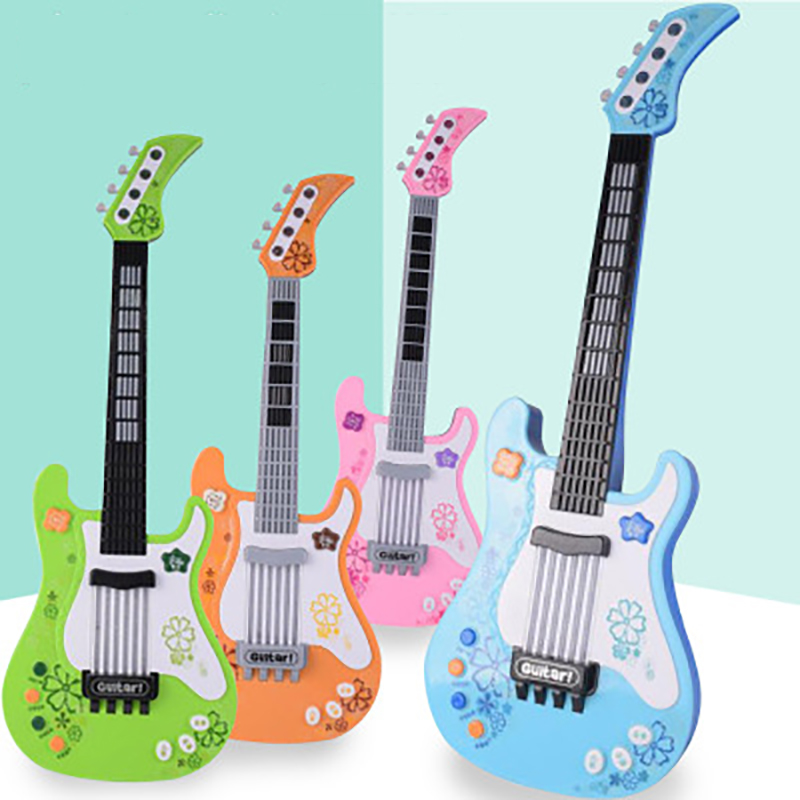 Mini Children's Electronic Guitar Toys Classical Guitar Educational Musical Toy For Kids Music Interest Developmente Girls Gift
