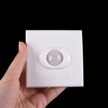 Sensor de movimento infravermelho do corpo do módulo do interruptor do ir de pir senser auto em luzes apagadas lâmpadas