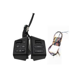 Image 5 - Bingwfpt para n issan livina & tiida & s ylphy acessórios do carro botões de controle do volante do carro botões interruptor função