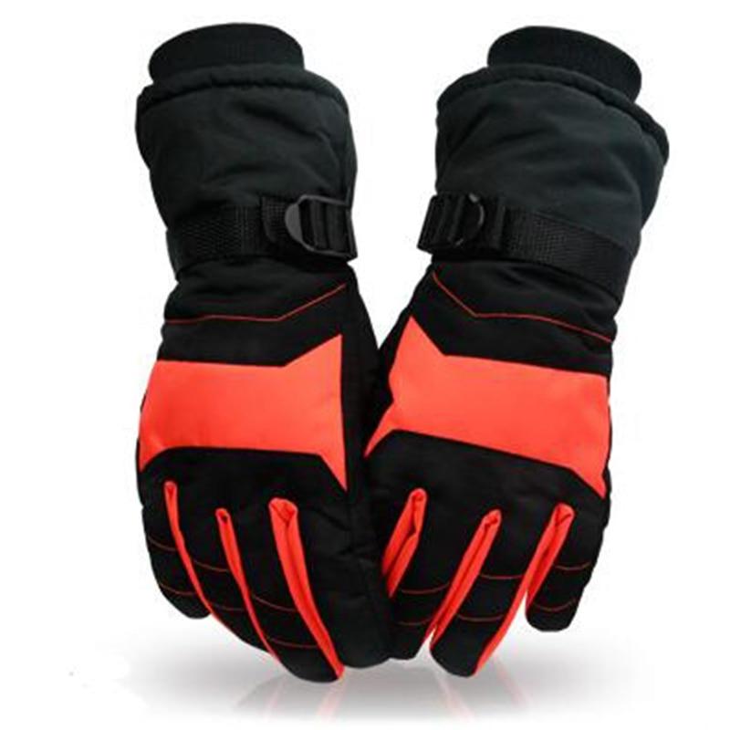 Winter Warm Ski Gloves Ladies Men's Wearable Fashion Snowboard Gloves Waterproof Sports Ski Riding Motorcycle Gloves