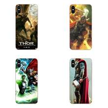 Thor Movie For Samsung Galaxy Note 5 8 9 S3 S4 S5 S6 S7 S8 S9 S10 5G mini Edge Plus Lite Rubber Cell Phone Case(China)