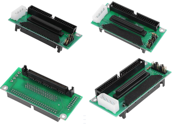 SCSI SCA 80 Pin to 68Pin to 50 Pin IDE Hard Disk Adapter Con image