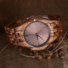 High Quality Mens Watches Wooden Watches Men Luxury Stylish