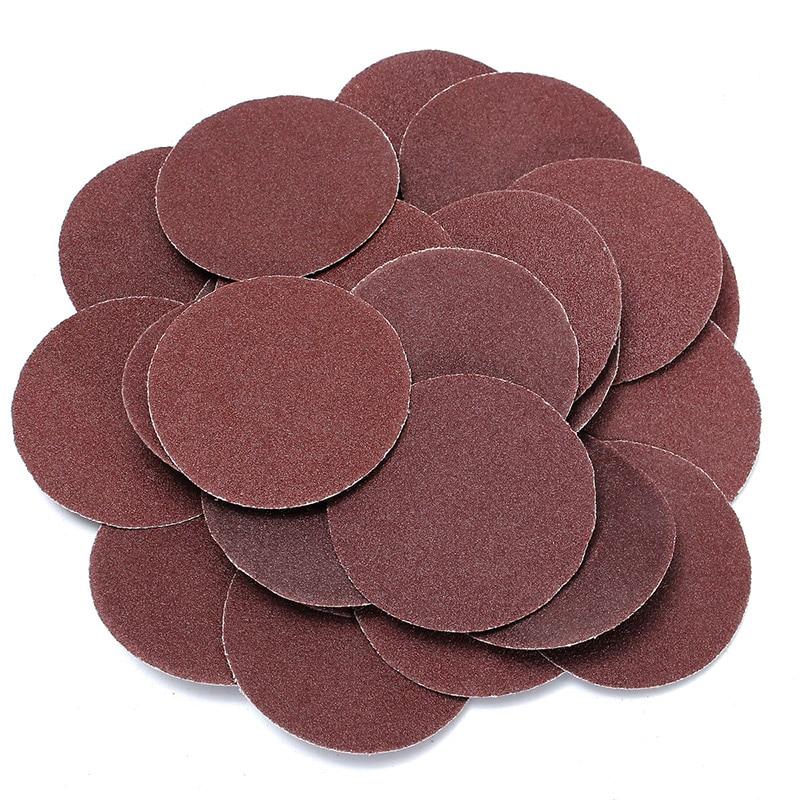 25pcs 120 Grit Sanding Disc R Type Discs Abrasive Roloc Disc Polishing Tool For Surface _WK