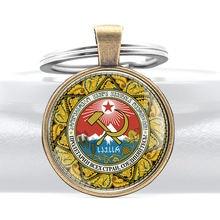 Серповидный молот Кольца Брелоки для ключей в стиле ретро скандинавском