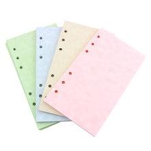 A5 a6 винтажная бумага для блокнота s страницы планировщик заполняющая