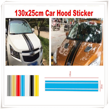 Auto Decal car auto Scratched Sticker Engine Decor Stripe for BMW E34 F10 F20 E92 E38 E91 E53 E70 X5 M M3 E46 E39 E38 E90 image