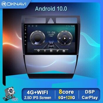 Radio samochodowe dla Audi A6 C5 1997-2004 S6 1999-2004 RS6 2002-2006 nawigacji magnetofon produktów motoryzacyjnych 9 Cal z systemem Android 10
