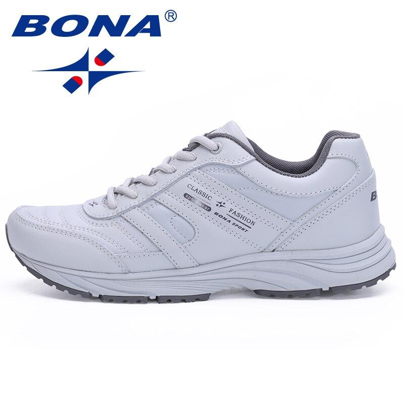 BONA Mode Casual Outdoor Sport Schuhe Rindsleder Atmungsaktive Herren Laufschuhe Low Top Tragen Beständig Turnschuhe Männlichen