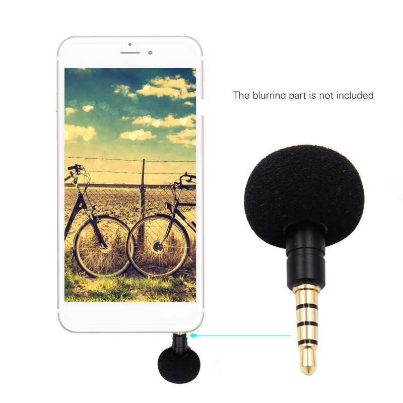 Handy Smartphone Tragbare Mini Omni-Directional Mic Mikrofon für Recorder für iPhone 5 6 Samsung Huawei