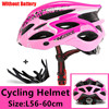 Kingbike 2019 novo design preto capacetes de bicicleta mtb mountain road ciclismo capacete da bicicleta casco ciclismo tamanho L-XL 21