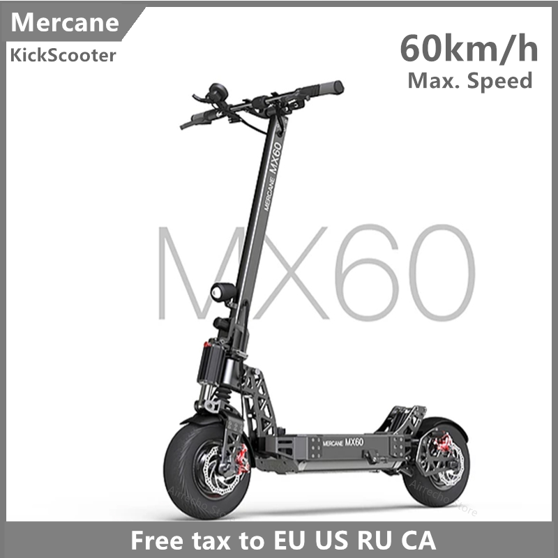 2019 Latest <font><b>Mercane</b></font> <font><b>MX60</b></font> Kickscooter Smart Electric Scooter 2400W 10 / 20AH60km/h 11