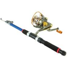 OUTAD 2.4M/2.7M/3M Fiberglass Telescopic Fishing Rod Combo S