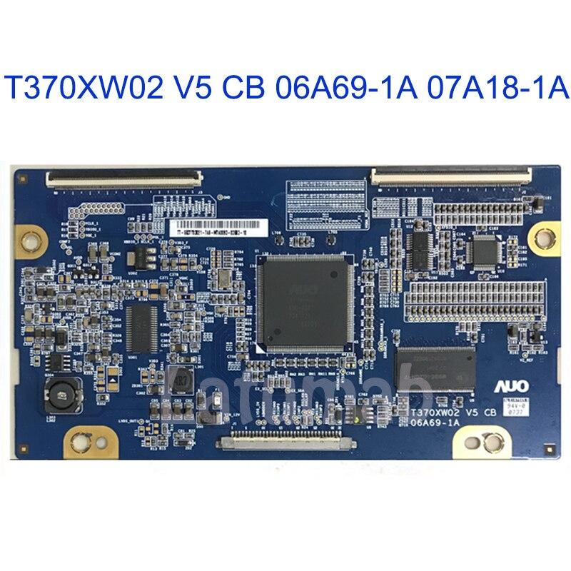 100% ORIGINAL  And New T-con Board T370XW02 V5 CB 06A69-1A  07A18-1A For Samsung LA37R81BA AUO 37