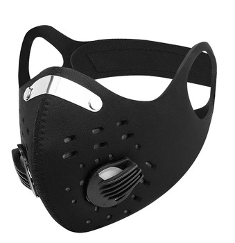 ACEXPNM Cycling Face Mask PM2.5 Mask Filter Dustproof Activated Carbon With Filter Anti-Pollution KN95 Bicycle Bike Face Mask