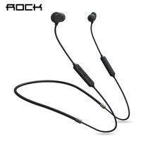 ROCK Zircon Nano Stereo Wireless Earphone Bluetooth 5.0 Ceramic Sports Running Neckband Headset For Samsung Xiaomi With MIC