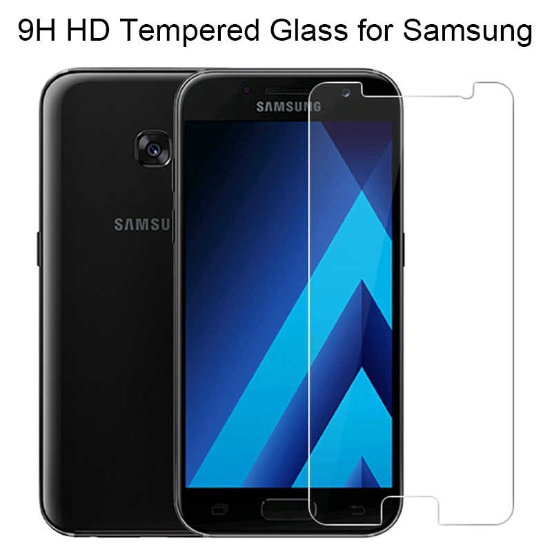 9H HD الزجاج المقسى لسامسونج J1 البسيطة 2016 J2 الآس الهاتف واقي للشاشة لسامسونج غالاكسي الكبرى رئيس زائد النواة لمبة مصنوعة من الزجاج الصلد