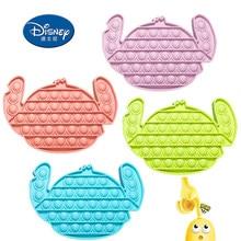 Disney pop bonito ele brinquedos antiestresse brinquedos para crianças adultas ponto empurrar bolha sensorial brinquedo especial alívio de estresse pop fidget