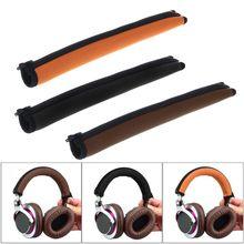 แถบคาดศีรษะเปลี่ยนชิ้นส่วนซ่อม Headband Cushion Protector สำหรับ Audio Technica ATH MSR7