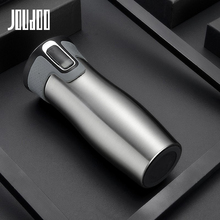 JOUDOO 450ml 16oz AUTOSEAL Vacuum Insulated Stainless Steel Travel Mugs Water Flask Thermal Tea Bottle 40