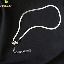 Anklet Bracelet 925-Sterling-Silver Chain Fine-Jewelry Foot-Enkelbandje Women Real Flyleaf