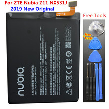 Original 3000mAh Li3829T44P6h806435 Battery For ZTE Nubia Z11 NX531J Mobile Phone Battery + Free Tools Gifts цена 2017