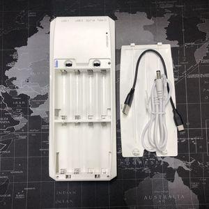 Image 4 - QD188 PD çift USB QC 3.0 + tip C PD DC çıkışı 8x18650 piller DIY güç bankası kutu tutucu kılıf cep telefonu için hızlı şarj