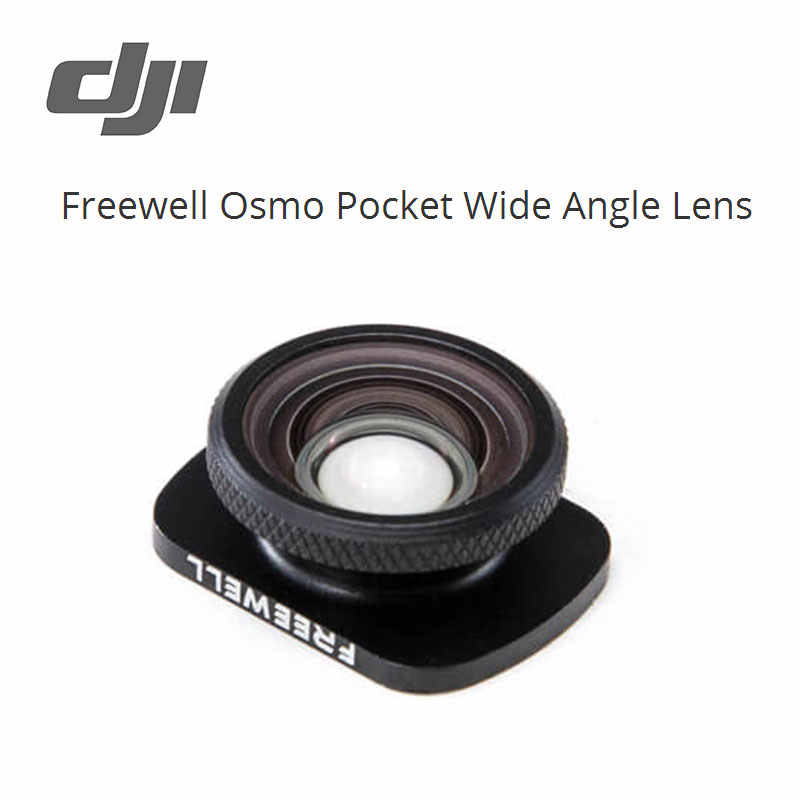DJI Freewell objectif grand Angle Osmo poche champ de vision élargi objectifs supplémentaires espace de stockage neuf