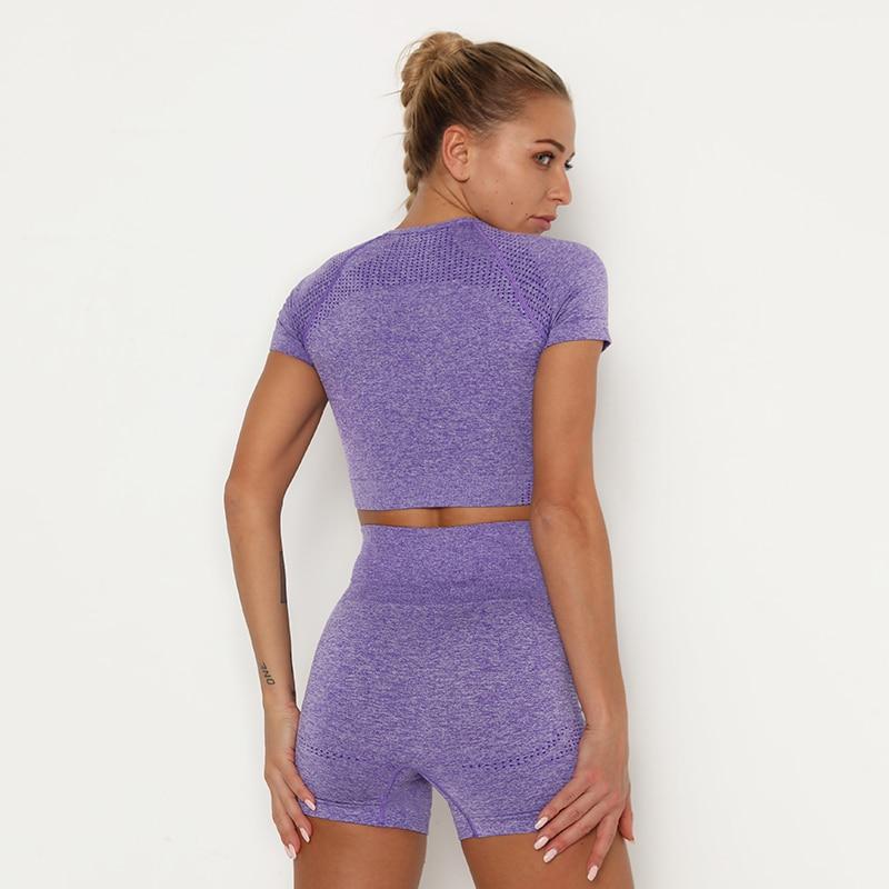 H20b8d032597d4d1ebe5208810073590a0 Kaminsky 14 Colors High Waist Seamless Leggings For Women Solid Push Up Leggins Athletic Sweat Pants Sportswear Fitness Leggings