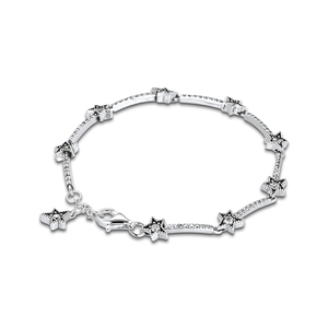 Image 3 - Christmas Celestial Stars Bracelets For Jewelry Making Sterling Silver Jewelry For Woman DIY Fashion Bracelets