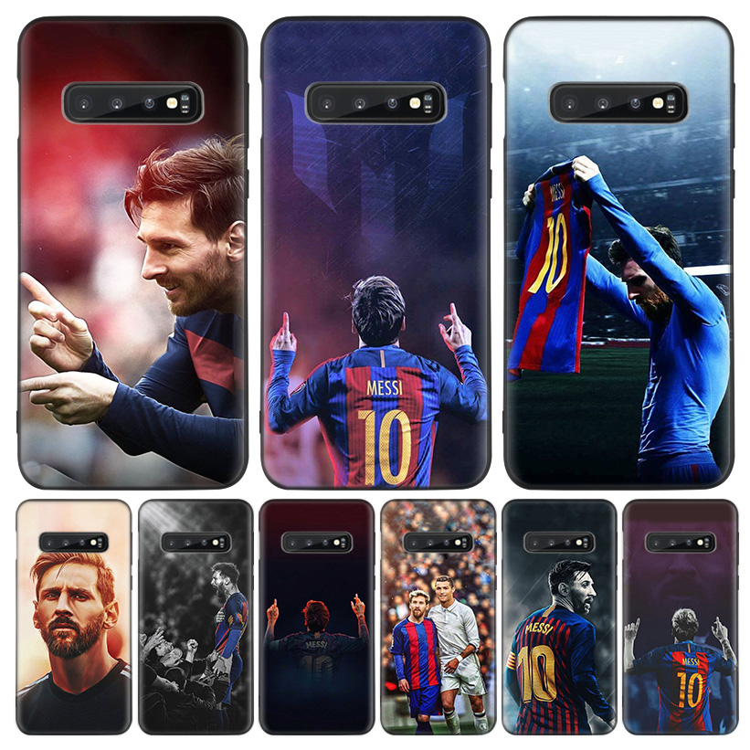 Lionel Messi Black Cover Phone Case For <font><b>Samsung</b></font> <font><b>Galaxy</b></font> A50S A10S <font><b>A20S</b></font> A10 <font><b>A20E</b></font> A30 A40 A50 A70 M40 M30S A80 Coque Shell image