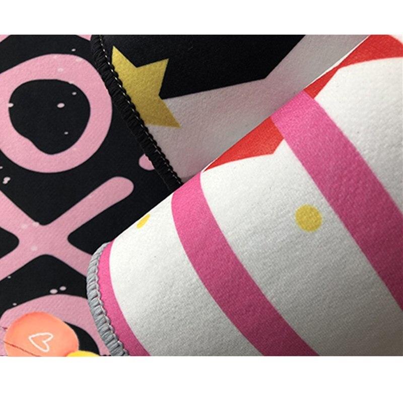 Cartoon Princess  Printing Doormat Flannel Home Decoration Non-slip Floor Mat Carpet  Tapis De Bain Felpudo Kids Rug  Playmat