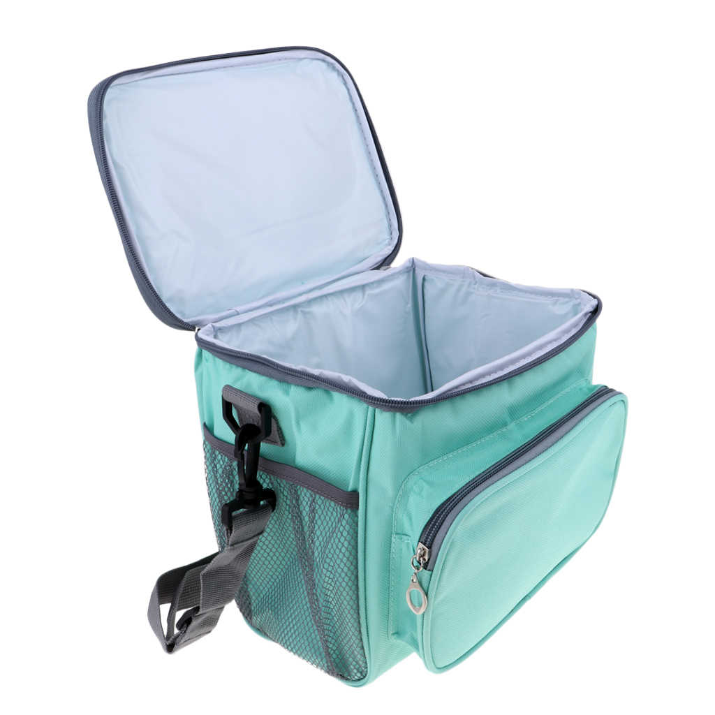 Insulated Lunch Box Outdoor Camping Picnic Food Cooler Tote Container Bag Outdoor Dining Gear