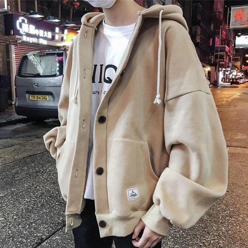Hoodies Mens Plus Size Thickening Hoody Hoodie Men Sweatshirts Streetwear Autumn Winter Harajuku Clothes Korean Fashion Tops