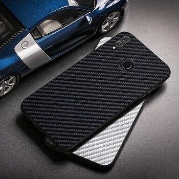 Перейти на Алиэкспресс и купить Чехол из углеродного волокна для Huawei Honor 8X Max, чехол для Honor 9A 9C 30 Pro Plus 10i 20 10 8 Lite 8A 8c Play 3 9 9X X10 Y5p Y6p Y7p Y8p