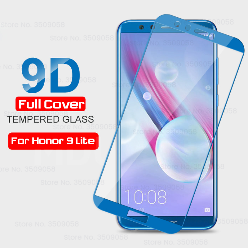 Protective Glass On Honor 9 Lite Case For Huawei Honor 9 Light Lait Safety Glass Honar Honour Honer 9lite Honor9 Honor9lite Glas