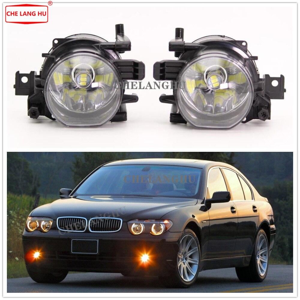 LED Fog Lamp For BMW 7 Series E65 E66 730 740 745 D 735 745 760 2001 2002 2003 2004 2005 Front LED Fog Lights Fog Lamp
