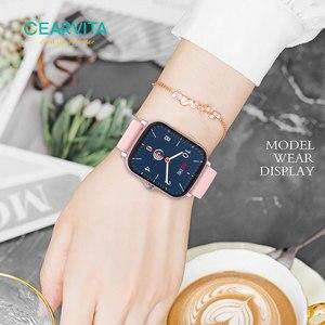 Image 3 - Gearvita Y20 Smart Watch Men P8 Plus 1.7 inch Rotate Button Waterproof Heartrate Fitness Tracker Smartwatch  Women PK GTS 2 P8