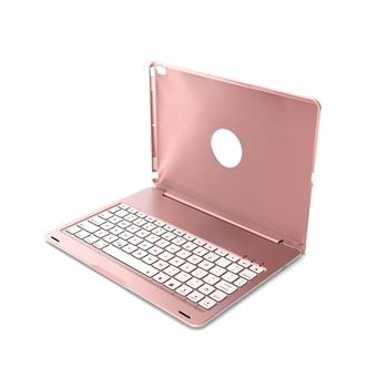 For iPad Pro 10.5 Keyboard Case,Bluetooth Wireless Keyboard Case For Apple iPad 10.5 A1701 A1709 Tablet Case with 7 Backlight