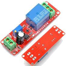 Relé ajustável 0-10 12v da c.c. do atraso do módulo do conector do interruptor do temporizador do disparador 10a com placa de tempo conduzida seco n1t8